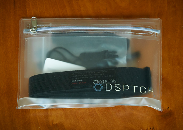 DSPTCH packaging