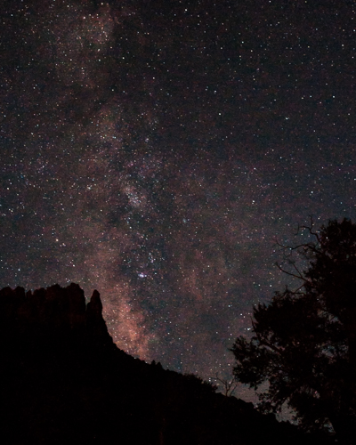 Shake Creek Milky Way