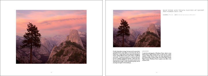 William Neill's YOSEMITE: VOLUME ONE Pg Spread