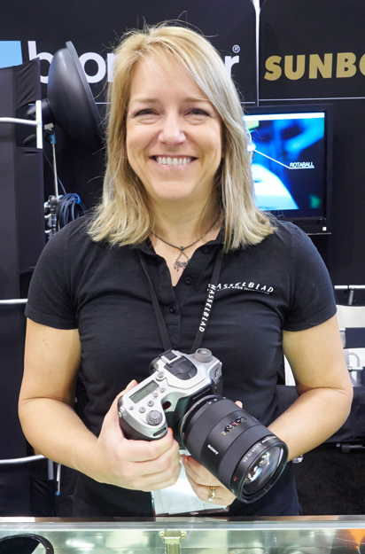 Gina of Hasselblad